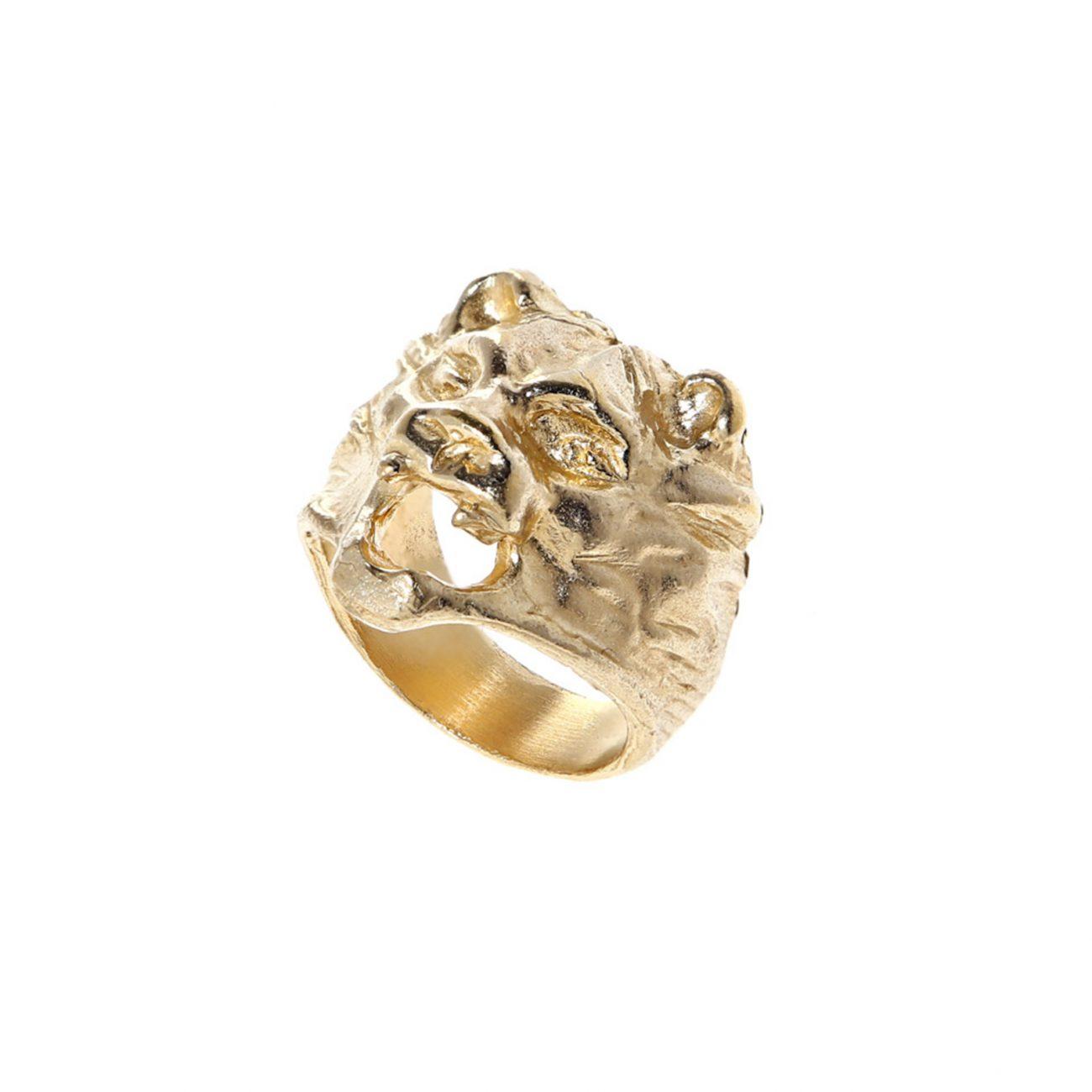 lion-GOLD-ring