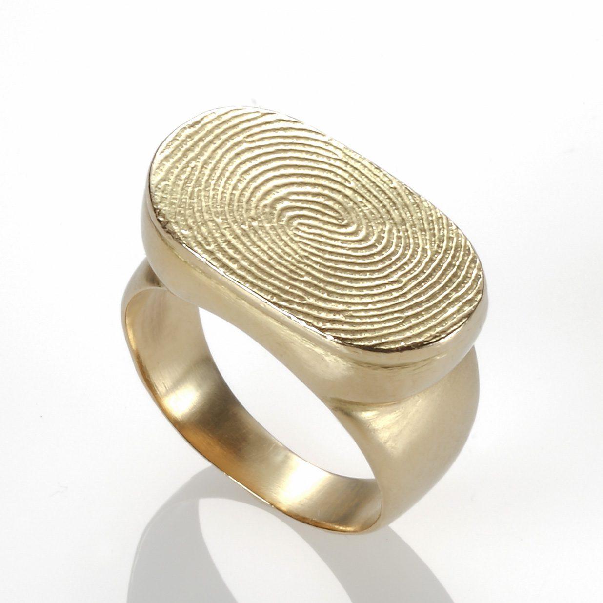 טבעת טביעת אצבע מרי