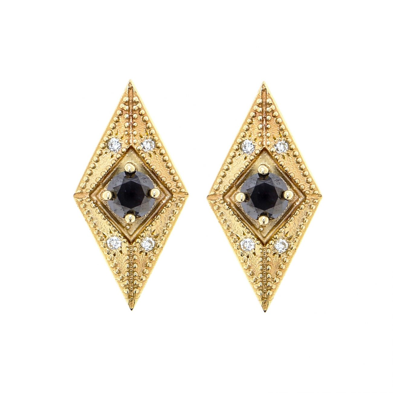 ella black earring