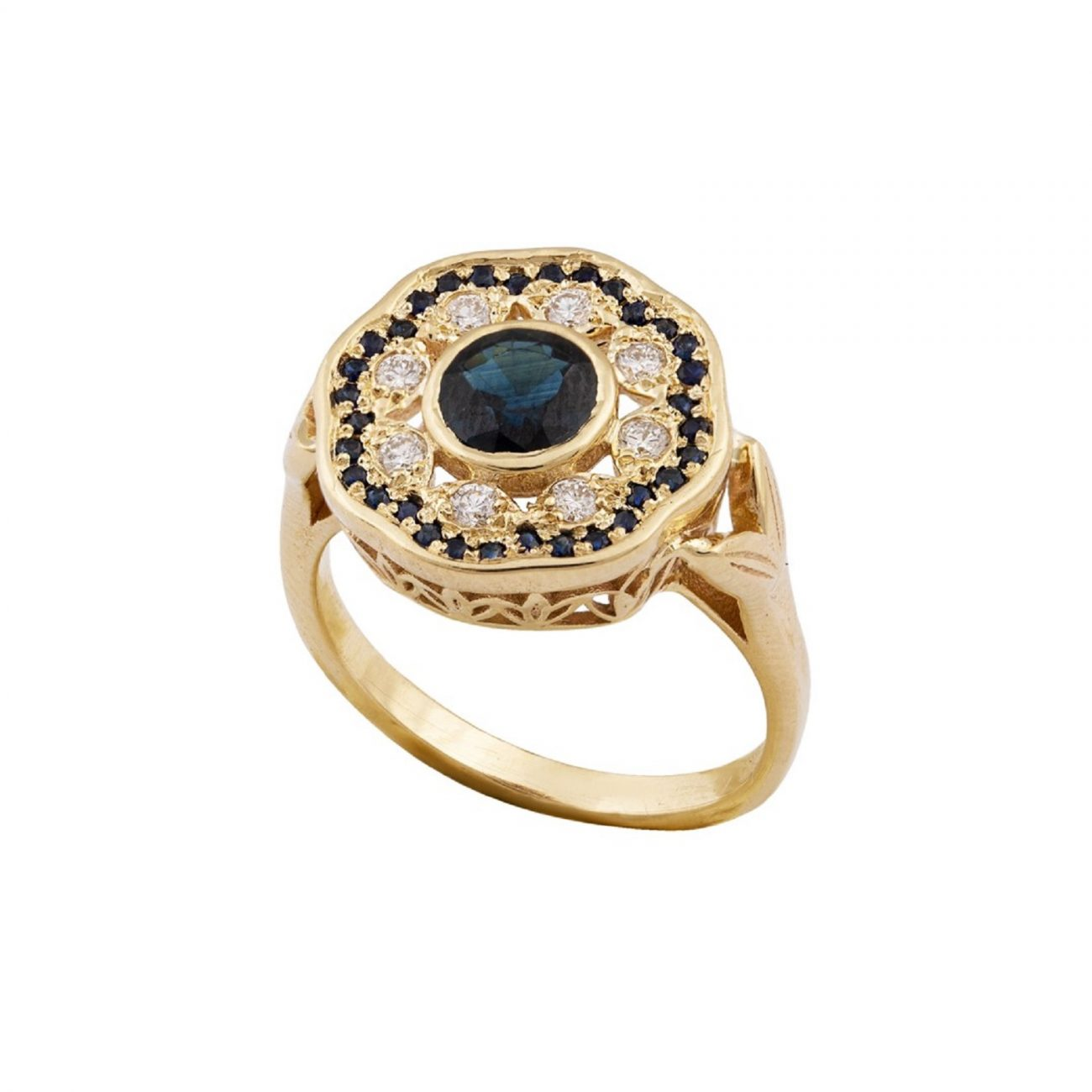 TCHELET YELLOW GOLD RING